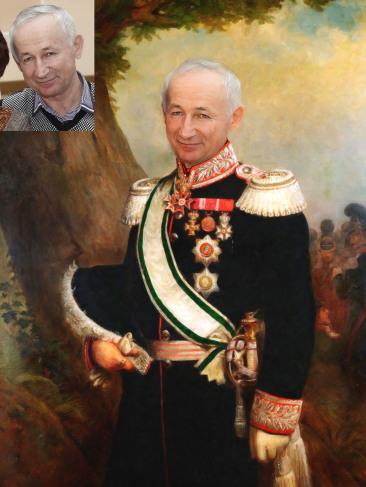 Где заказать исторический портрет по фото на холсте в Луганске?