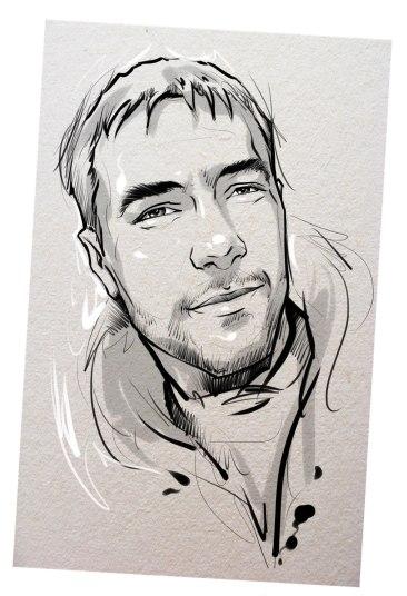 Портрет карандашом любимому мужу в Луганске