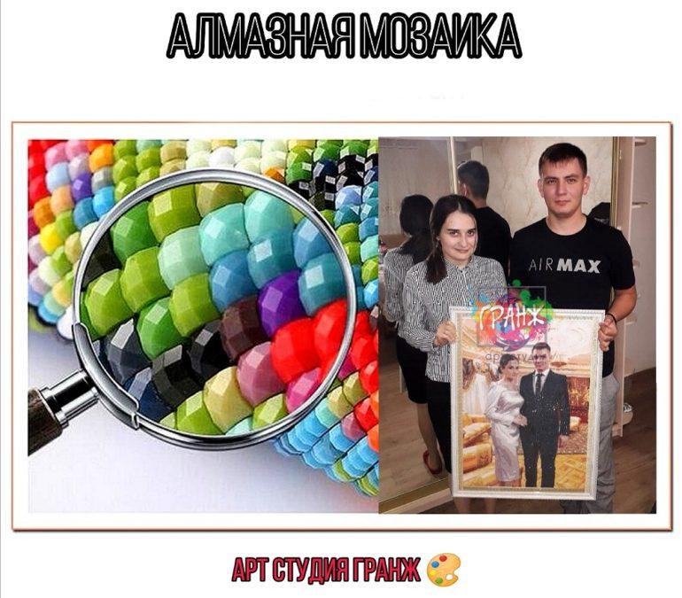 Алмазная мозаика по фото заказать в Луганске